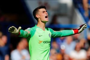 Chelsea will be without goalkeeper Kepa Arrizabalaga for the second-leg of their Europa League tie with Malmo on Thursday.