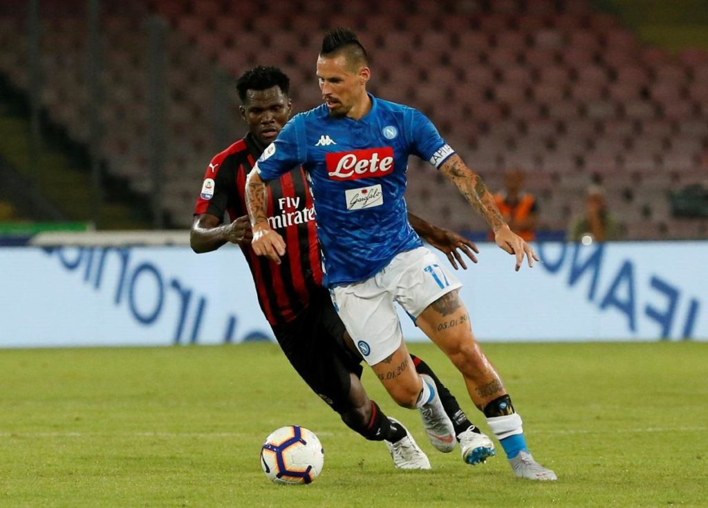 Napoli captain Marek Hamsik is reportedly undergoing medical tests in Madrid ahead of his 18m euros move to Dalian Yifang.