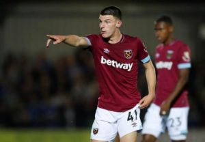West Ham midfielder Declan Rice has decided his international future lies with England after defecting from the Republic of Ireland.
