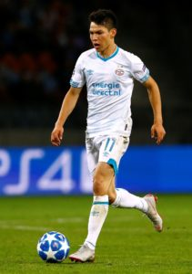 PSV Eindhoven could have both Hirving Lozano and Steven Bergwijn available for Sunday's Eredivisie clash with Utrecht.