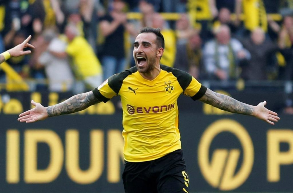 Borussia Dortmund signed Paco Alcacer on a permanent deal worth 28 million euros from Barcelona.