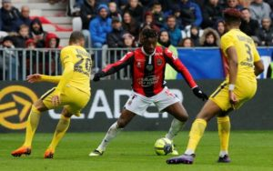Atletico Madrid are the latest club to be linked with Nice's Allan Saint-Maximin with reports claiming they will make a 25m euros bid.