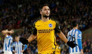 Florin Andone has been handed an immediate three-match suspension after being found guilty of violent conduct by the Football Association.