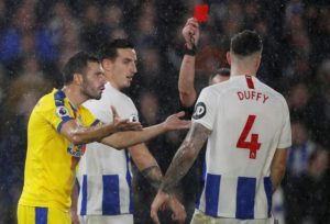 Shane Duffy says there is no panic at Brighton despite their alarming poor form which has seen them tumble down the Premier League.