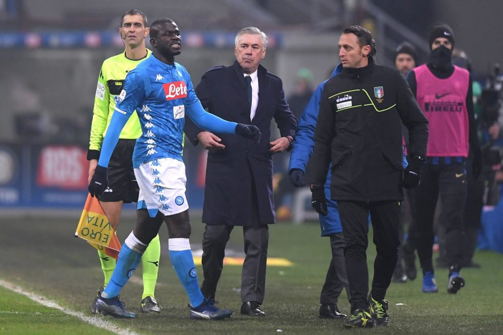 """Napoli centre-half Kalidou Koulibaly would never """"betray"""" the club by joining Serie A rivals Juventus, according to his agent."""
