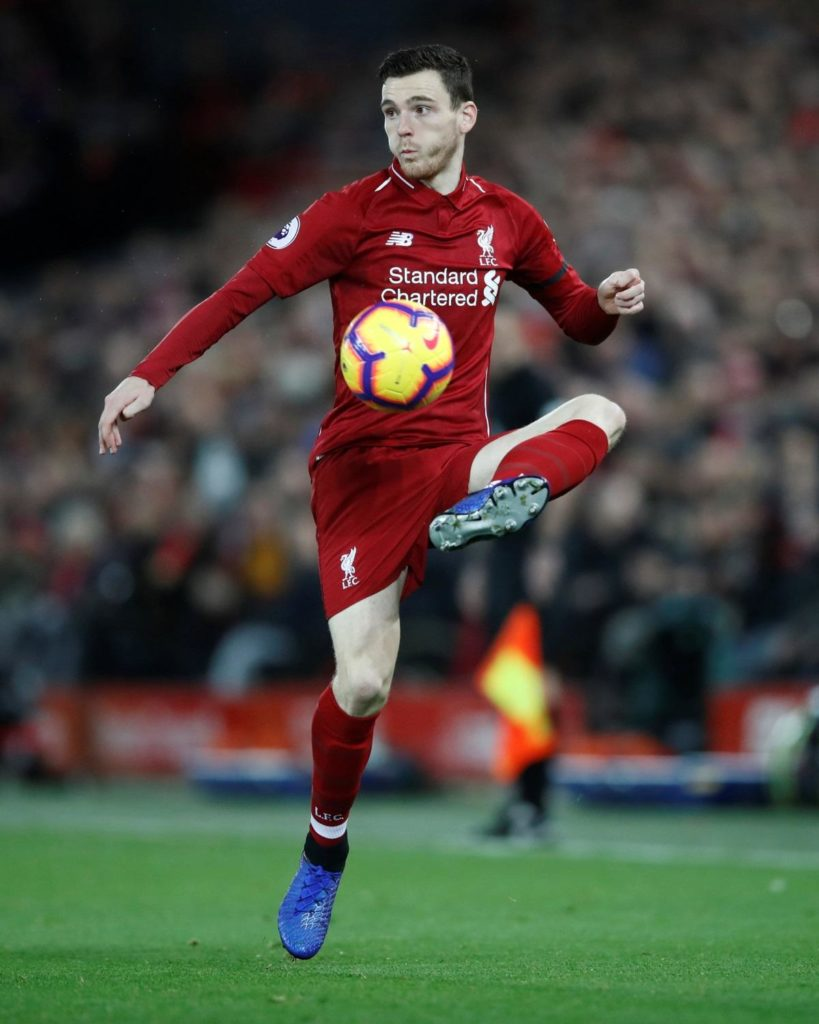 Liverpool defender Andrew Robertson says he holds no fear as the Reds battle it out with Manchester City for the Premier League title.