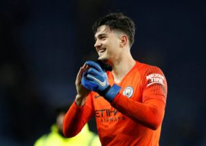 Goalkeeper Ari Muric appears likely to get the nod ahead of Ederson to start against Chelsea in Sunday's Carabao Cup final at Wembley.