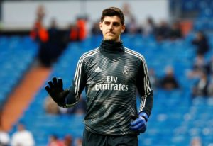 Real Madrid keeper Thibaut Courtois hopes the club can convince his former Chelsea team-mate Eden Hazard to move to Spain.