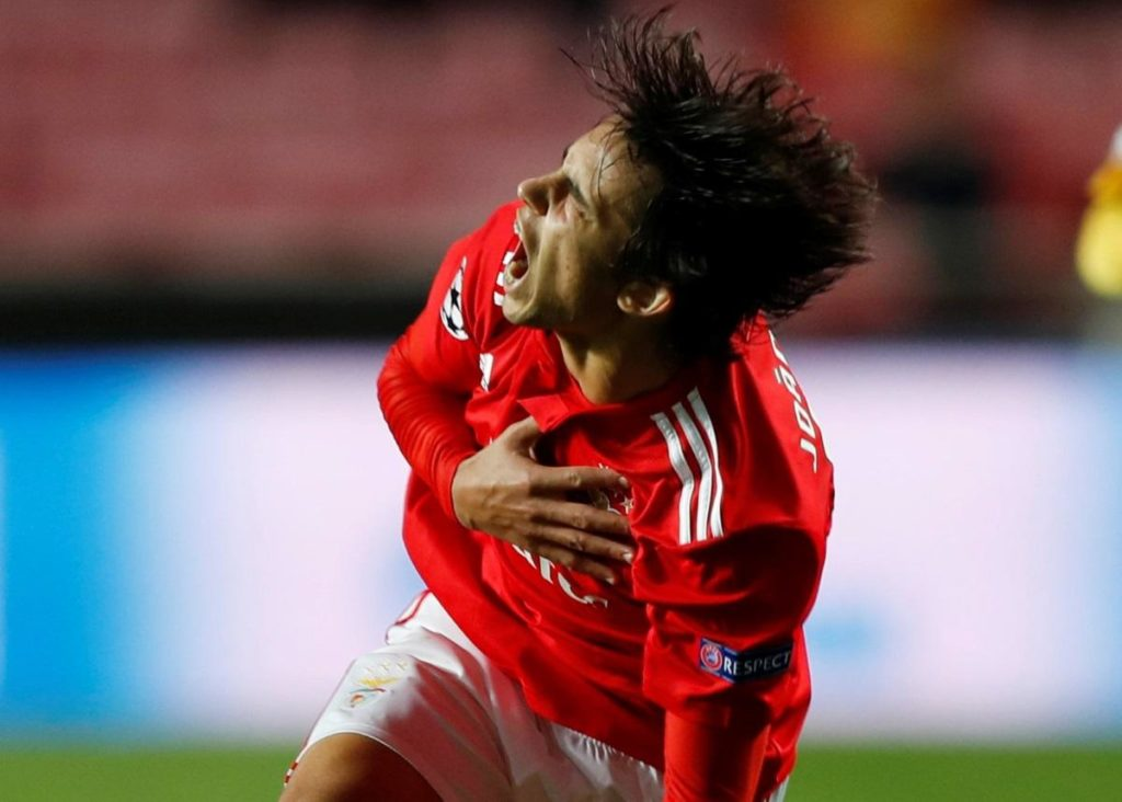Wolves are reportedly leading the race to snap up Benfica's highly-rated Joao Felix next summer.