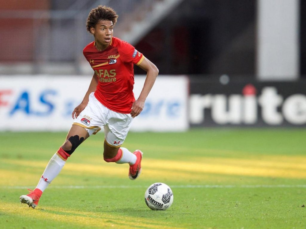 Ajax are reportedly keeping tabs on AZ Alkmaar's highly-rated youngster Calvin Stengs as they consider a summer move.