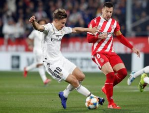 Real Madrid are set to be without Marcos Llorente for nearly a month after he picked up an injury in Wednesday's clash with Barcelona.