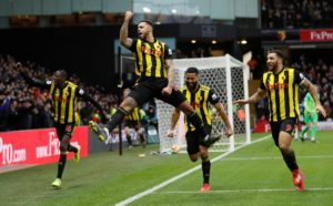 Marco Silva endured a disappointing return to Watford as his Everton side slumped to a 1-0 defeat at Vicarage Road.
