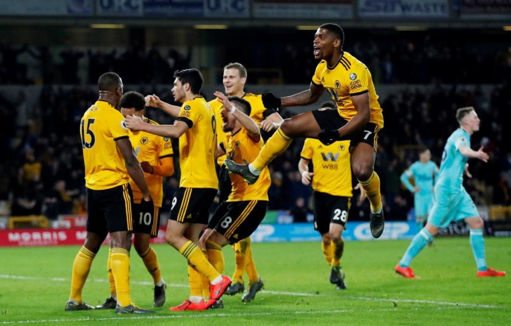 Willy Boly's last-gasp equaliser denied Newcastle a vital win in their Premier League relegation scrap as Wolves snatched a 1-1 draw.
