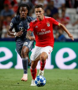 Arsenal sent scouts to Portugal over the weekend as they consider making a summer move for Benfica's Alex Grimaldo.