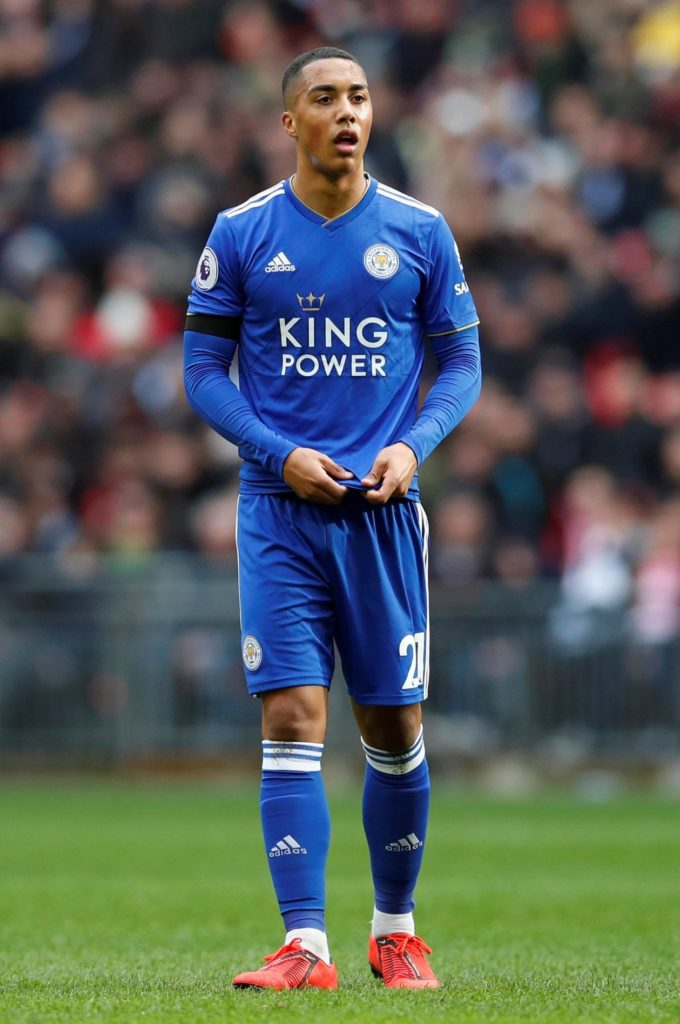 Youri Tielemans says he is thankful for being handed the opportunity to play for Leicester but admits he isn't sure what his future holds.