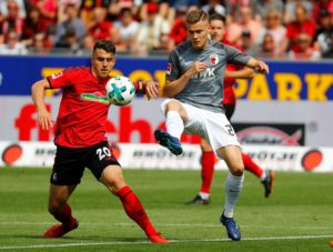 Alfred Finnbogason has warned FC Augsburg that he will look to leave the club if they are relegated from the Bundesliga this season.