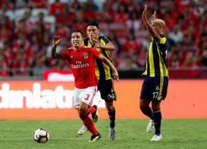 Atletico Madrid are reportedly one of a number of clubs keeping an eye on Benfica full-back Alejandro Grimaldo.