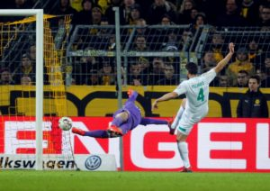 Claudio Pizarro has become the oldest goalscorer in Bundesliga history after netting in Werder Bremen's 1-1 draw at Hertha Berlin on Saturday.