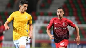 West Ham scouted Maritimo's win over Belenenses in the Primeira Liga on Sunday with teenager Pedro Pelagio among those on show.
