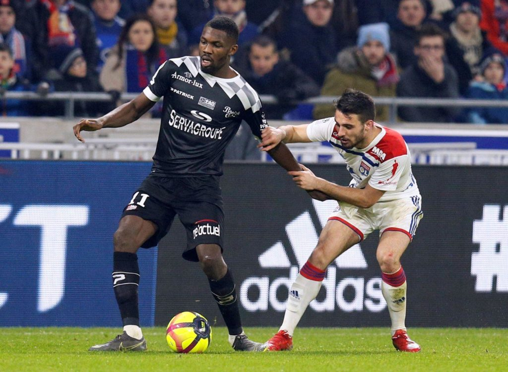 Arsenal will make another check on Guingamp starlet Marcus Thuram on Wednesday when he plays against Bordeaux in Ligue 1.