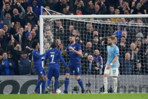 Chelsea secured a 3-0 win over Malmo thanks to second half goals from Olivier Giroud, Ross Barkley and Callum Hudson-Odoi.
