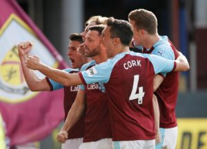 Ashley Barnes netted a late winner as Burnley eased their relegation fears with a 2-1 victory over Tottenham Hotspur at Turf Moor.