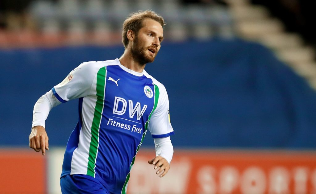 Fit-again Nick Powell pushing for starting berth for Wigan's