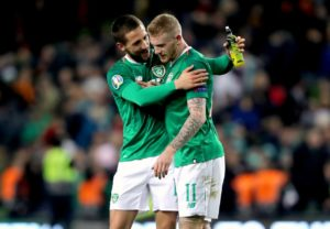 Mick McCarthy saluted match-winner Conor Hourihane after seeing him fire the Republic of Ireland to the top of their Euro 2020 qualifying group.