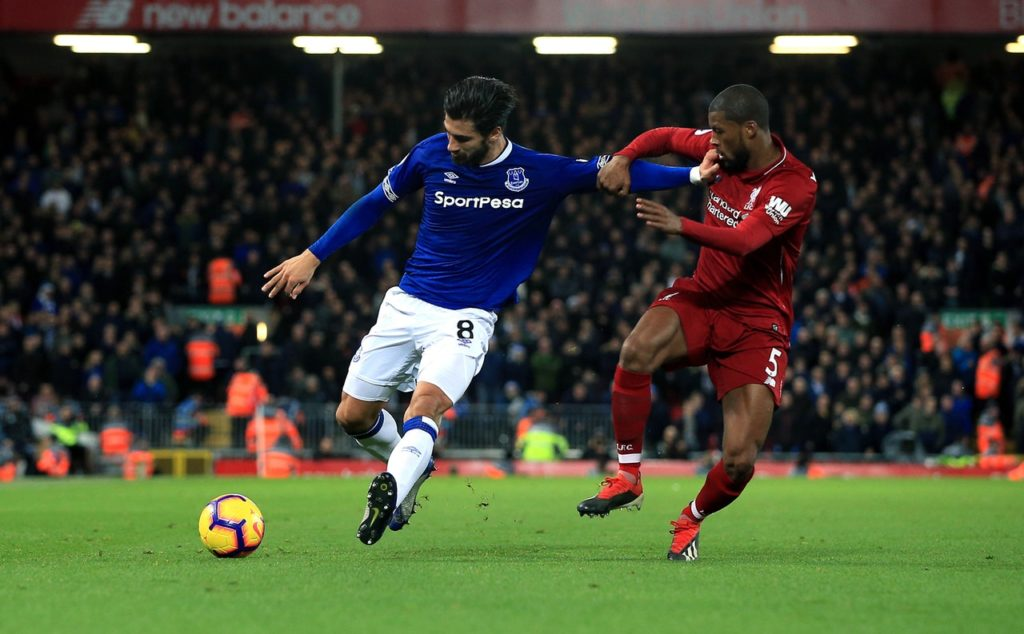 Everton midfielder Andre Gomes insists he is 'very happy' with his loan stay so far but will wait until the summer before deciding his next move.