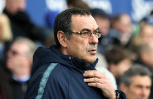 Chelsea boss Maurizio Sarri has admitted a Premier League top-four finish will be 'impossible' if they do not improve.