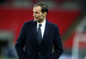 Massimiliano Allegri is adamant he has no concerns regarding his future at Juventus despite their precarious position in Europe.