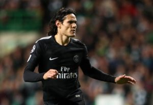 Edinson Cavani has reportedly suffered a recurrence of his hip injury and will be out of action for Paris St Germain for another month.