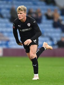 Barnsley's Cameron McGeehan has been suspended for three games after being found guilty of violent conduct.