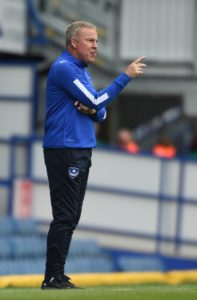 Portsmouth manager Kenny Jackett claims his side 'had to work' for what he thought was 'a hard-fought' 2-0 Sky Bet League One win at Shrewsbury.
