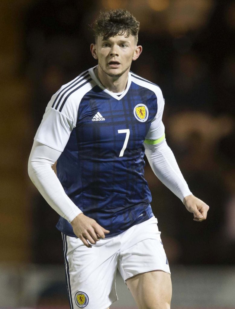 Oliver Burke says Celtic have helped him kick-start his career and now he wants to step up a gear and re-establish himself with Scotland.