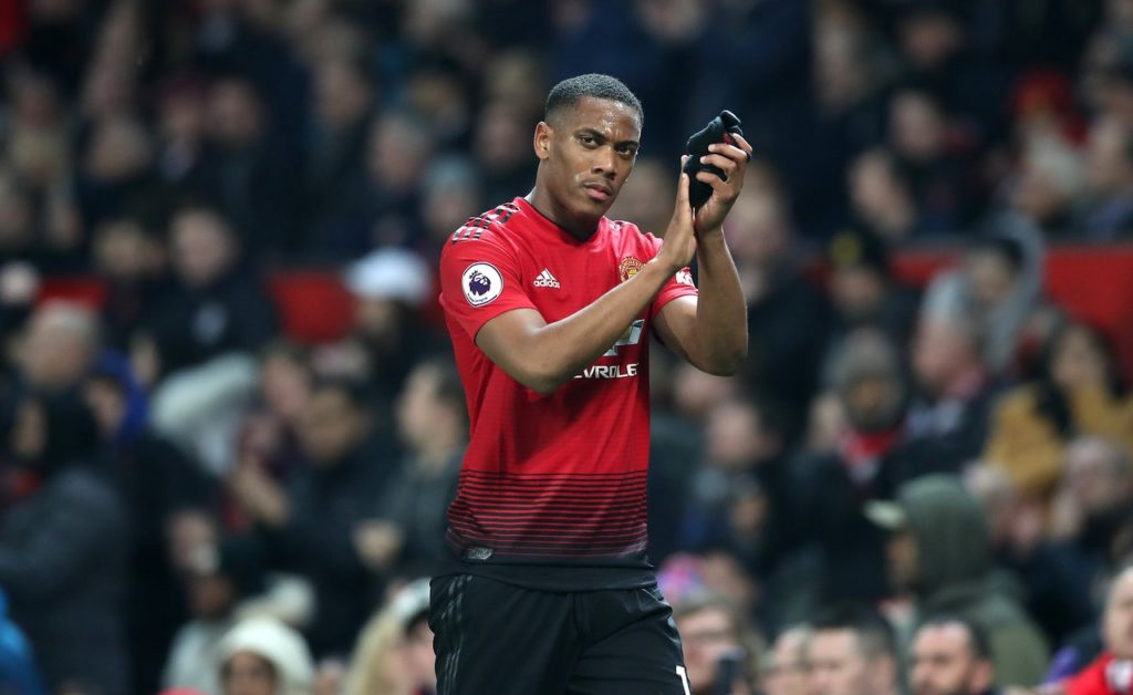 Manchester United have concerns over the fitness of Anthony Martial, who limped out of the 2-1 win over Watford yesterday.