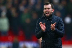 Stoke manager Nathan Jones hailed Jack Butland as one of the country's top goalkeepers after Derby were held 0-0 at Pride Park.