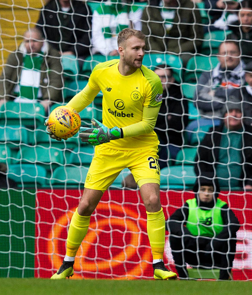 Celtic keeper Scott Bain now has the incentive to nail down the number one spot for club and country, according to Hoops interim boss Neil Lennon.