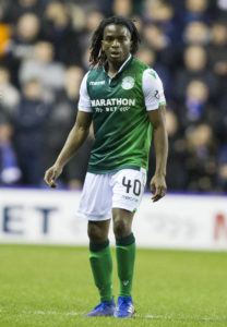 Stephane Omeonga admits he has been taken aback by the love and support of the Hibernian fans.