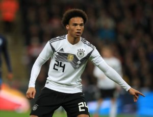 Germany head coach Joachim Low says Manchester City ace Leroy Sane was lucky to escape a broken leg against Serbia.