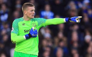 Jordan Pickford credits Marco Silva's half-time team talk for Everton's victory over Chelsea and hopes for more in the coming weeks.