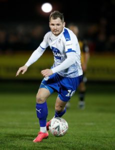 James Norwood struck the only goal of the game to give Tranmere a 1-0 victory against former club Exeter in Sky Bet League Two.