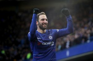 Gonzalo Higuain could return for Chelsea when they go to Everton on Sunday after he missed the Europa League win at Dynamo Kiev.
