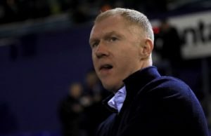 Paul Scholes spoke of his disappointment after Oldham let a first-half lead slip at Cambridge.