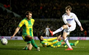 Leeds returned to the top of the Sky Bet Championship after an impressive 4-0 win over promotion rivals West Brom at Elland Road.