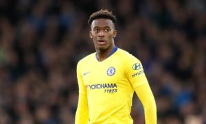 Highly-rated Chelsea teenager Callum Hudson-Odoi has been handed his first England call-up.