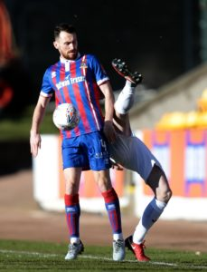 Aaron Doran's dramatic injury-time header gave Inverness a 2-1 William Hill Scottish Cup quarter-final win over Dundee United at Tannadice.