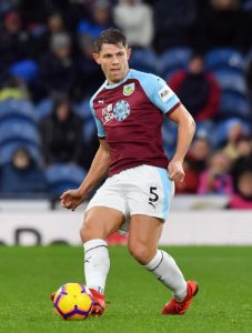 Burnley's James Tarkowski says it feels good to have his hard work on the training ground recognised.