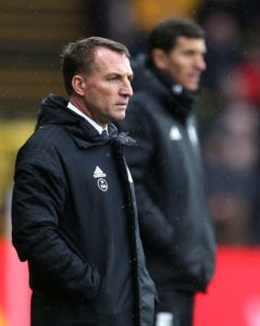 Leicester boss Brendan Rodgers looks set to stick with his winning team for Saturday's trip to Burnley.