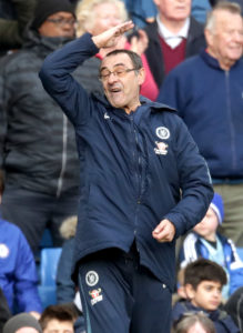 Chelsea boss Maurizio Sarri believes he has sorted out his defence and will now look at the attack where he wants consistency.